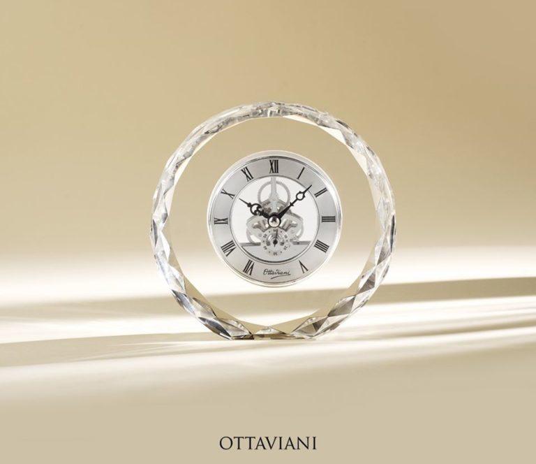 Ottaviani orologio cristallo