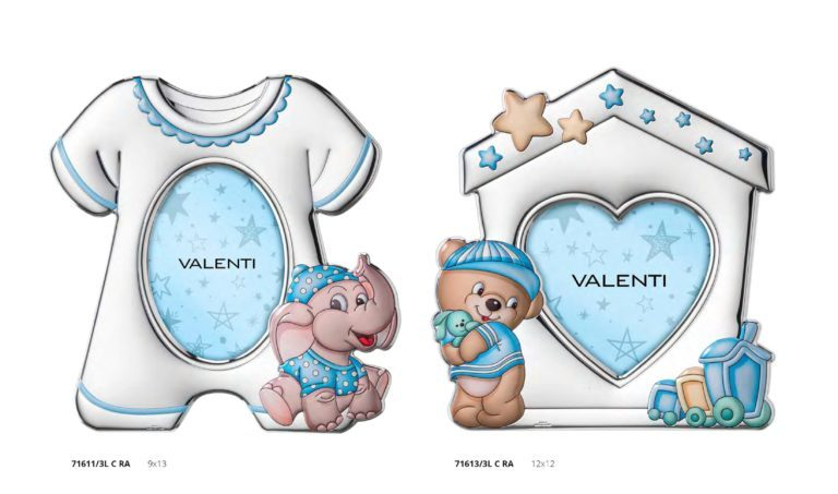 regali per bambino argento